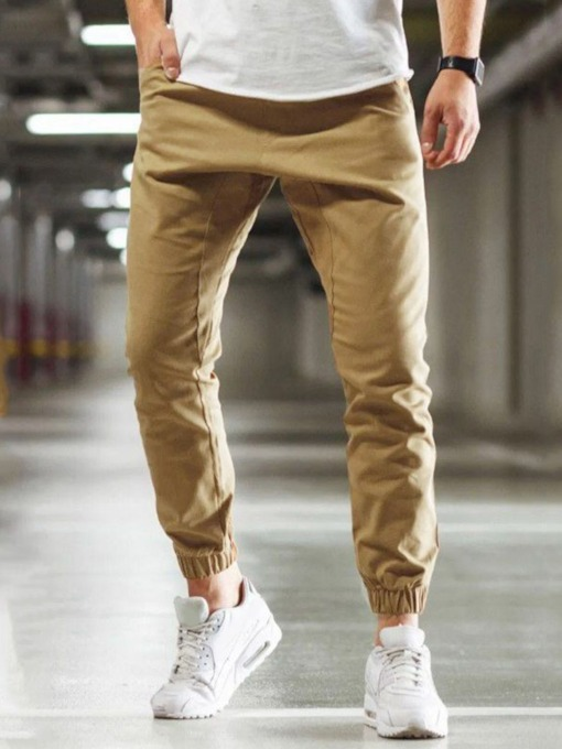 Plain Summer Men's Casual Pants