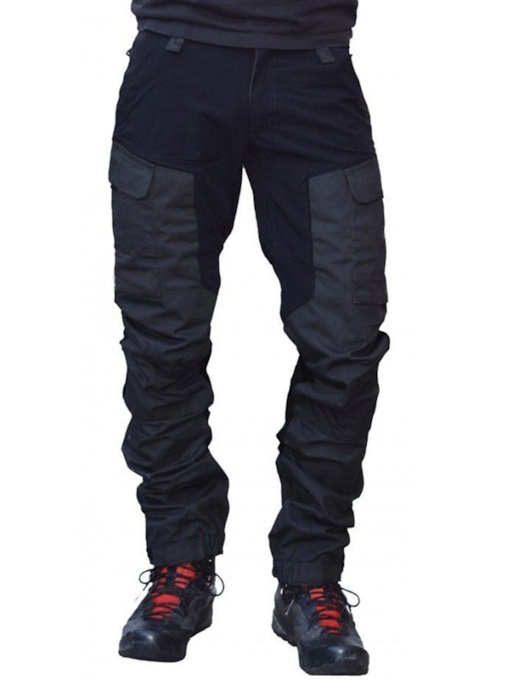 Color Block Overall Pocket Four Seasons Men's Casual Cargo Pants