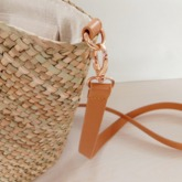 Grass Knitted Shell Tote Bags
