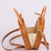 Grass Knitted Circular Tote Bags