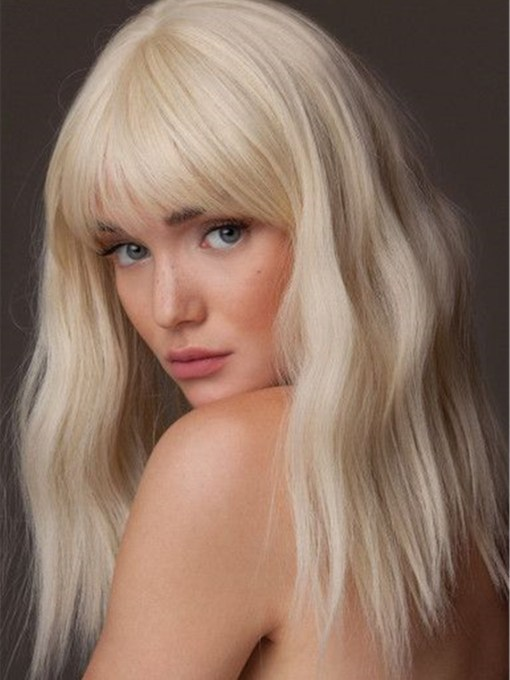 Synthetic Hair Capless 18 Inches Wigs