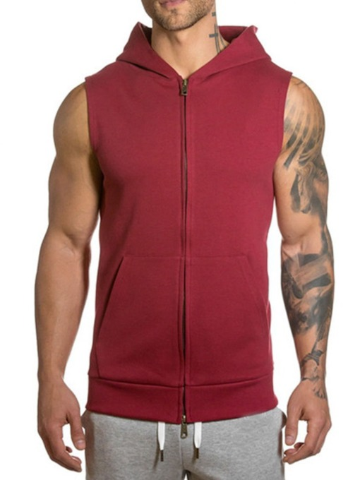 Cardigan Plain Slim Men's Hoodies