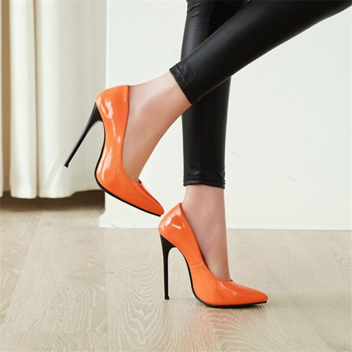 Pointed Toe Slip-On 12cm Thin Shoes