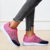 Cross Strap Round Toe Slip-On Outdoor Sneakers