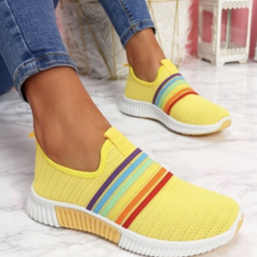 Round Toe Slip-On Outdoor Sneakers