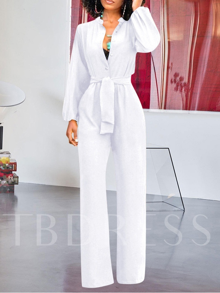 Full Length Sexy Straight Women's Jumpsuit