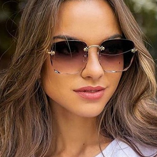 Fashion Square Poly Carbonate Sunglasses