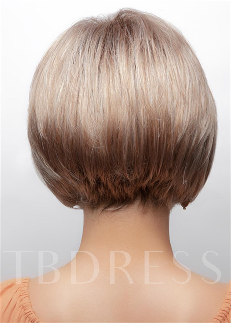 Women Synthetic Hair Capless 10 Inches Wigs