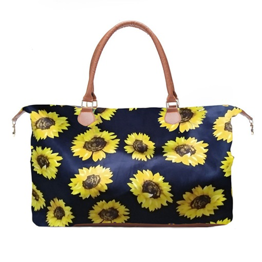 Floral Canvas Print Travelling Bags