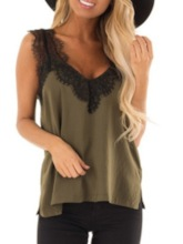 Lace Standard Women's Tank Top