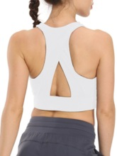 Solid Nylon Breathable Pullover Sleeveless Female Tops