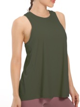 Solid Anti-Sweat Female Sleeveless Pullover Tops
