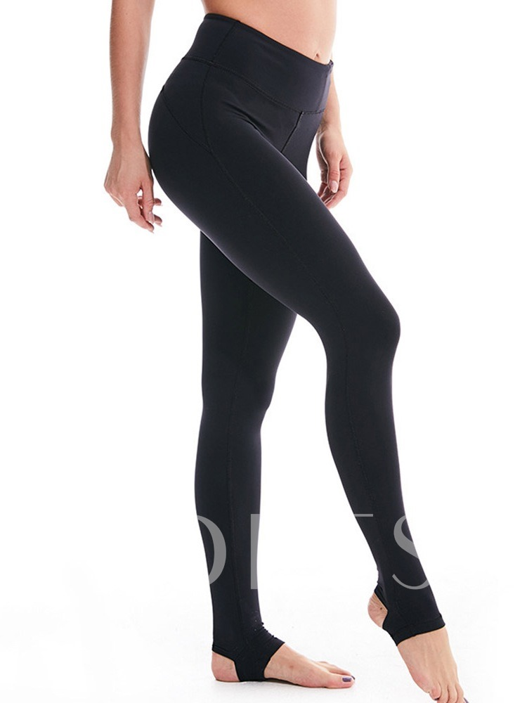 Breathable Solid Yoga Female Full Length Pants