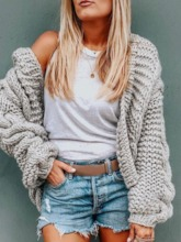 Regular Thin Straight Women's Sweater