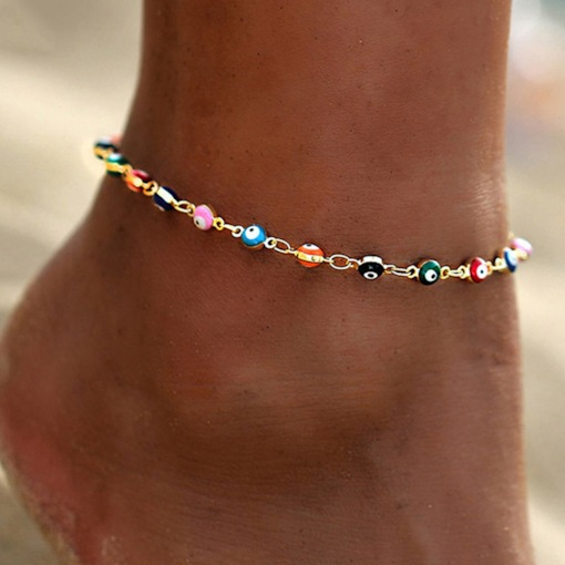 E-Plating Geometric European Anklets Anklets