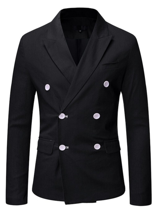 Plain OL Button Slim Men's Blazer