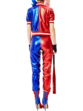 Western Long Sleeve Patchwork Color Block Classic Halloween Women's Costumes