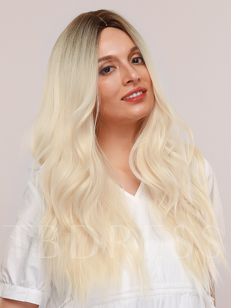 Synthetic Hair Capless 28 Inches 130% Wigs