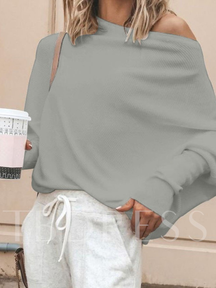 Batwing Sleeve Loose Female's Sweater