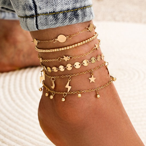 Female E-Plating Sweet Anklets Anklets