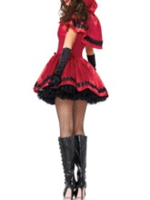 Color Block Patchwork Western Summer Women's Costumes