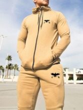 Sports Hoodie Fall Men's Outfit