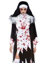 Western Zipper Color Block Classic Halloween Women's Costumes