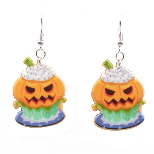 European Acrylic Holiday Earrings