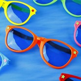 Halloween Masquerade Party Funny Clown Glasses
