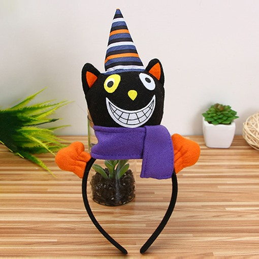 Cartoon Headwear Holloween Women's Accessories