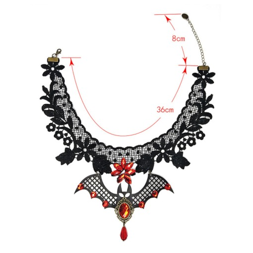 Baking Varnish European Water Drop Female Necklaces
