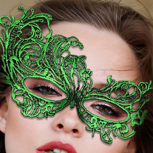 Halloween Lace Masks