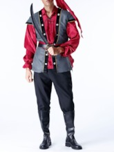 Color Block Classic Halloween Long Sleeve Men's Costumes