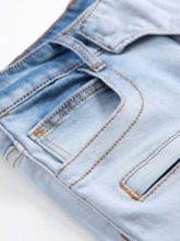 Zipper Straight European Men's Jeans
