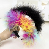 Feather Korean Hairband Party Hair Accessories