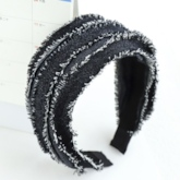 Hairband Color Block Korean Party Hair Accessories