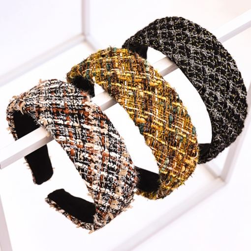 Korean Color Block Hairband Gift Hair Accessories