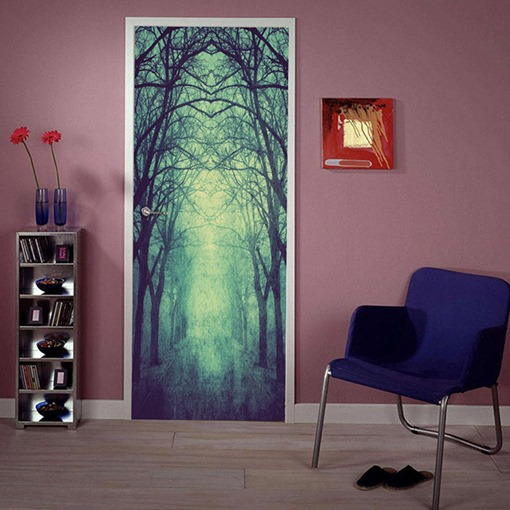Modern PVC Natural Scenery Wall Stickers Wall Decorations