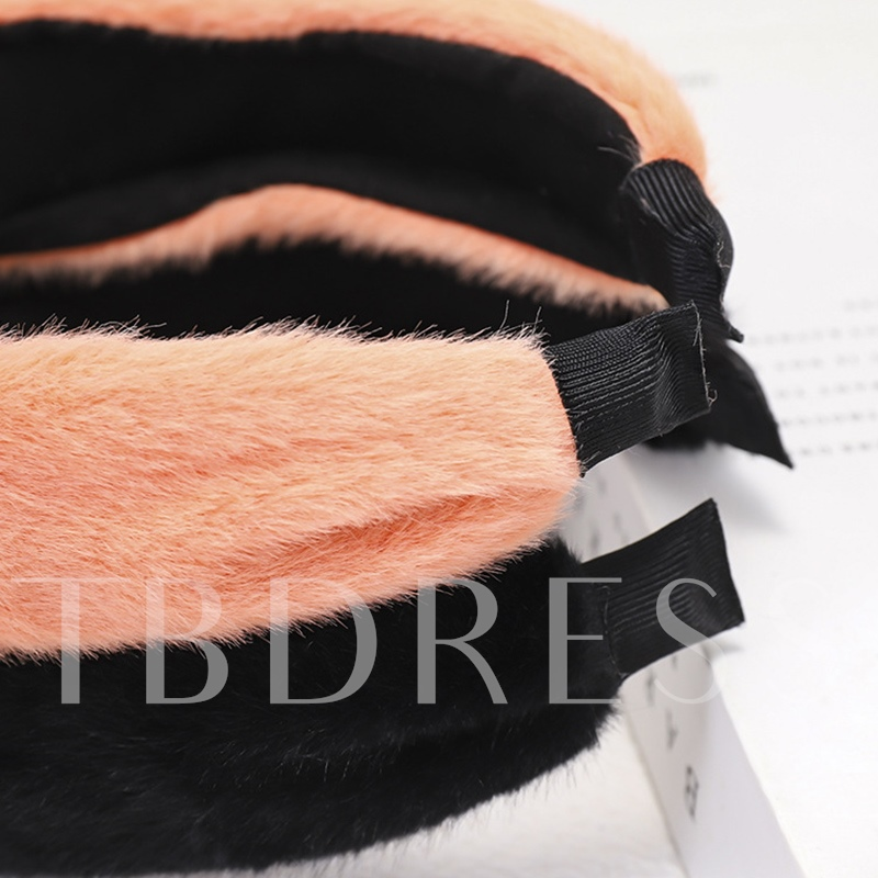 Plain Hairband Korean Birthday Hair Accessories