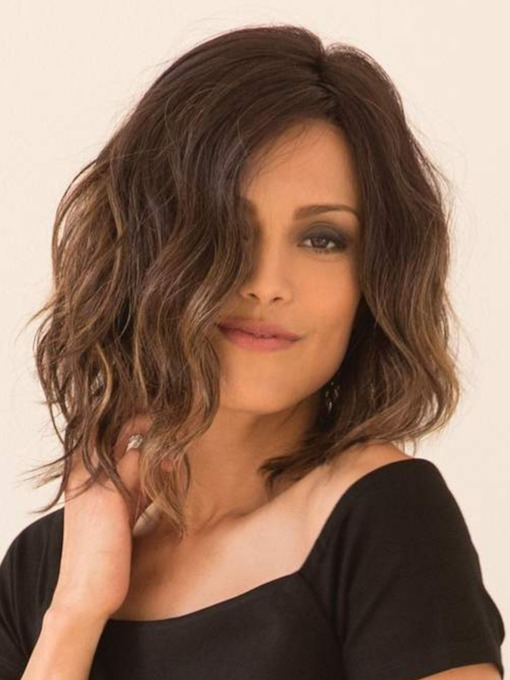 Women Synthetic Hair Capless 12 Inches Wigs