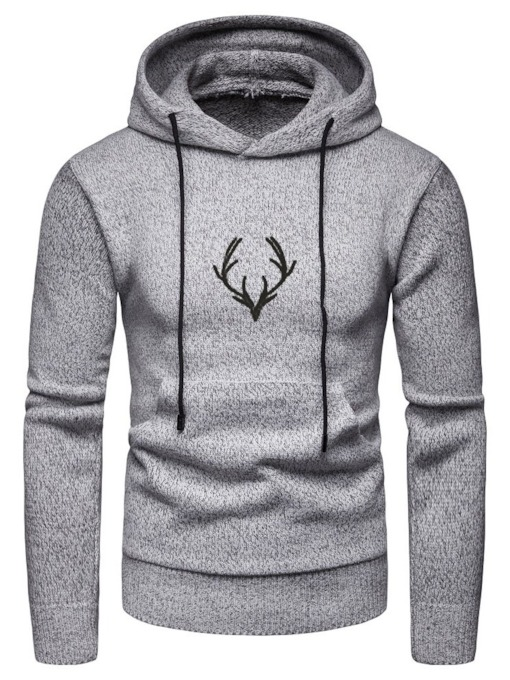 Pullover Pocket Casual Men's Hoodies
