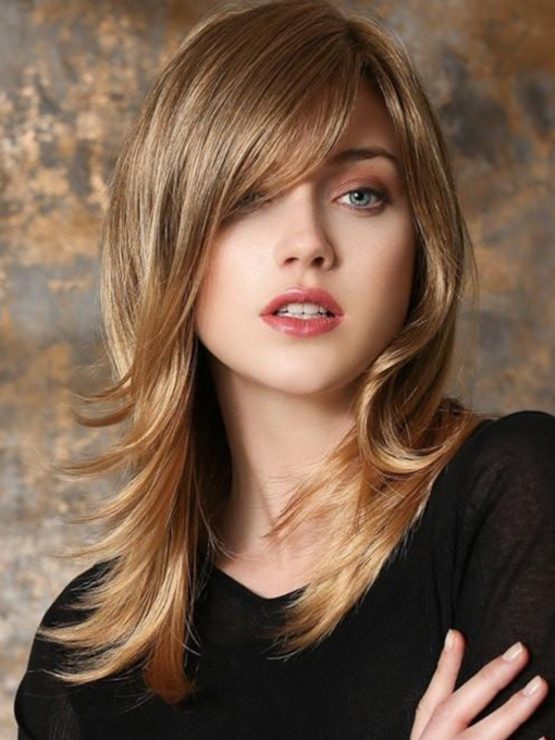 Synthetic Hair Women 22 Inches Wigs