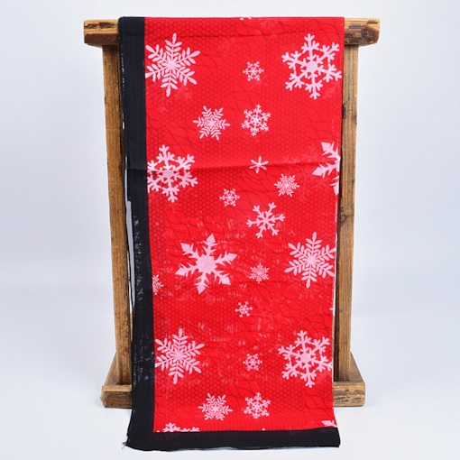 Color Block Scarfs Christmas Decoration Supplies