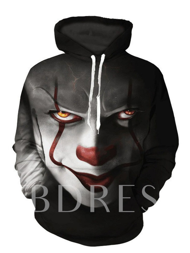 Print Pullover Winter Men's Hoodies