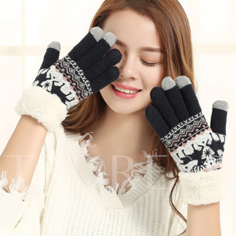 Animal Gloves Christmas Decoration Supplies