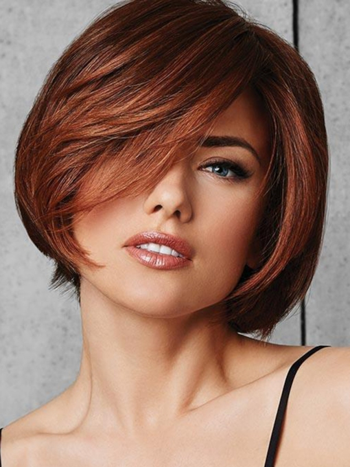 Capless Synthetic Hair Women 8 Inches Wigs