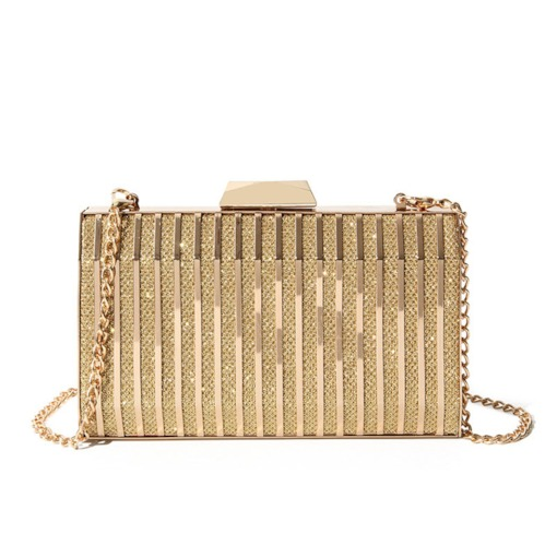 Rectangle Hasp PU Versatile Clutches & Evening Bags