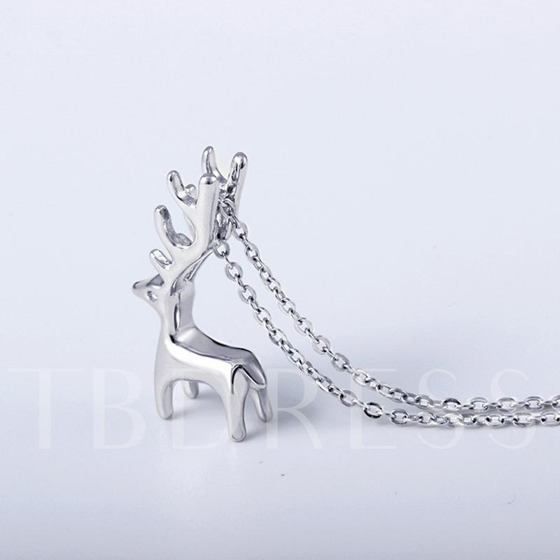 Animal Chain Necklace Korean Female Necklaces