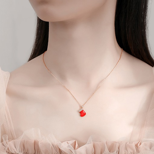 Korean Pendant Necklace E-Plating Female Necklaces