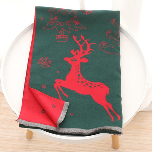 Animal Christmas Scarfs Decoration Supplies